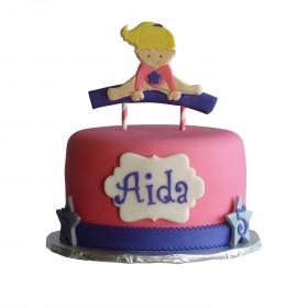 Детский торт для гимнастки