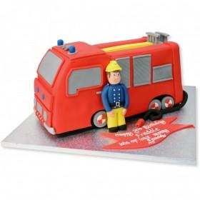 Торты на заказ Пожарная машина