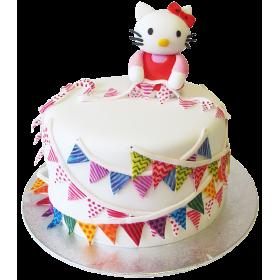 Детский торт с аппликацией Xелло Китти