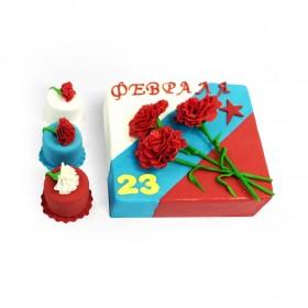 Торт на 23 февраля (набор)