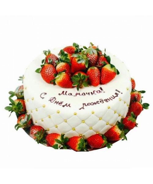 Торт праздничный маме