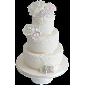 Торт Свадебный  модель 031