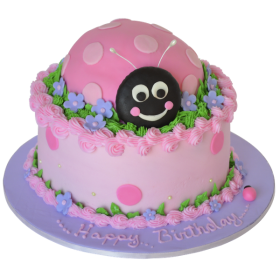 Детский торт Божья коровка