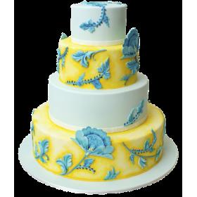 Торт Свадебный  модель 015