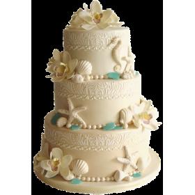 Торт Свадебный  модель 027