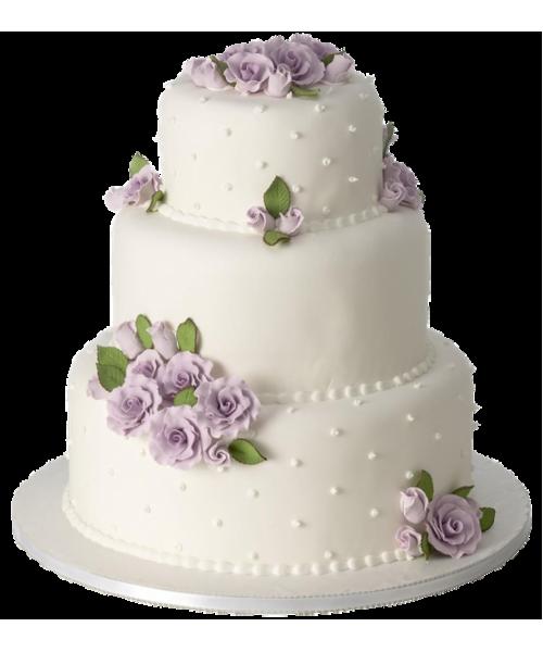 Торт Свадебный  модель 045