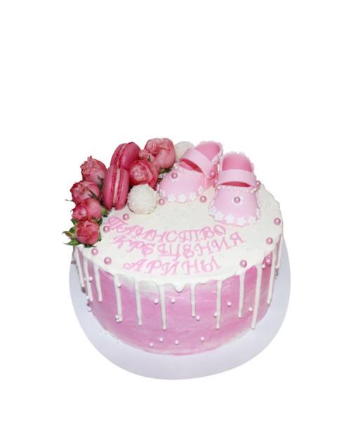 Торт для девочки на крещение