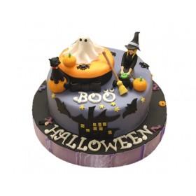 Детский торт Хеллоуин