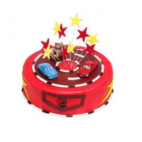 Торт «Машинки»