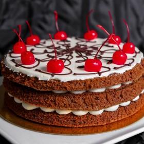 Торт Нежность с вишней